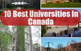 10 TOP Universities (Canada)