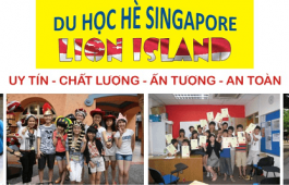 Du học Hè tại Singapore Lion Island