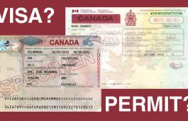 Giấy Thông Hành (Visa) & Giấy Phép học tập (Study Permit)